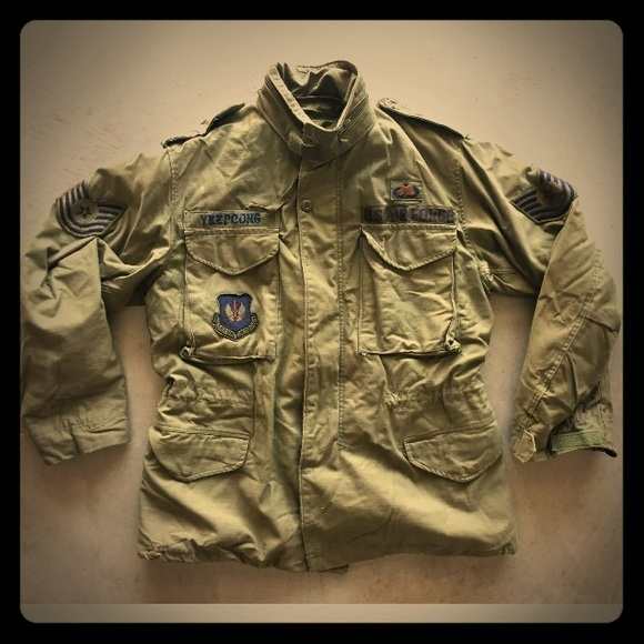 Air Force Other - Vietnam War Air Force Field Jacket with Liner